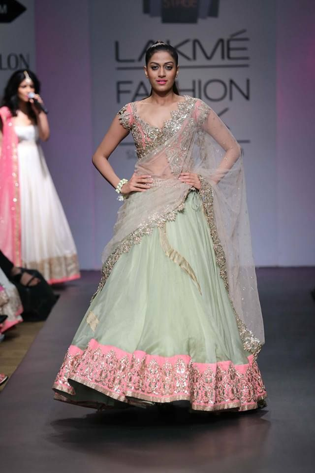 anushree-lehenga-mint-green