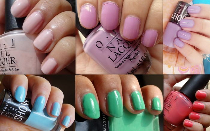 pastel-nailpolishes-spring