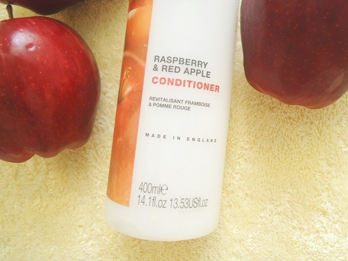 Enliven Natural Fruit Extract Raspberry & Red Apple Conditioner Review (5)