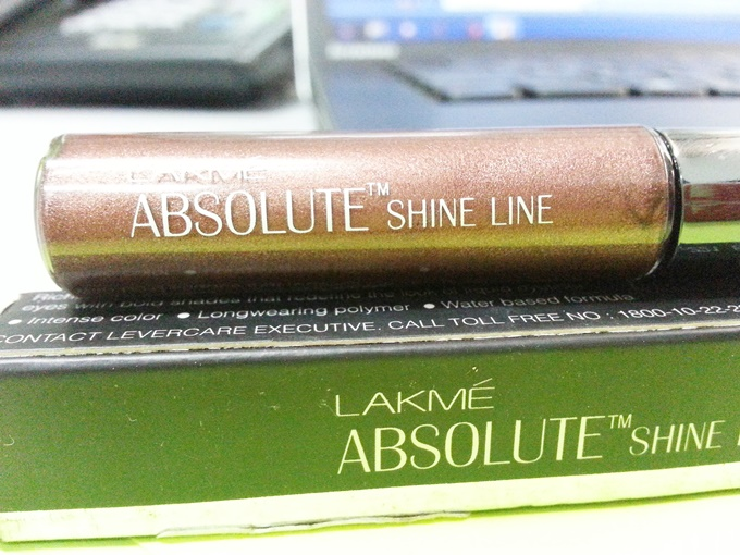 Lakme Absolute Shine Line in Brown Review (1)