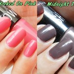 Maybelline Colorshow Nail Polish Swatches: Hooked on Pink & Midnight Taupe