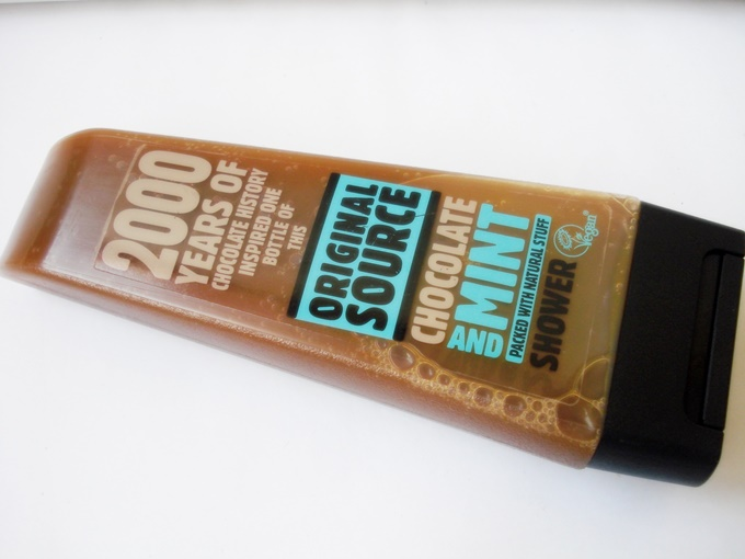 Original Source Chocolate and Mint Shower Gel Review (1)