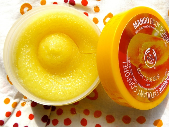 The Body Shop Mango Body Scrub Review (2)