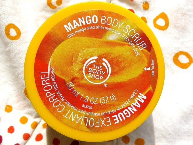 The Body Shop Mango Body Scrub Review (5)