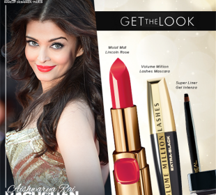 Makeup Breakdowns for Aishwarya Rai & Sonam Kapoor at Cannes 2014