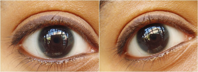 Lakme Eyeconic Kajal in Brown Swatches & Review