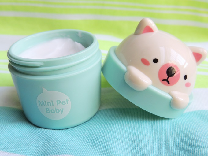 The Face Shop Mini Pet Hand Cream Review (2)