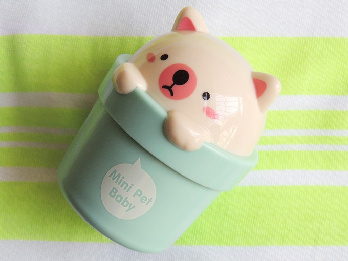 The Face Shop Mini Pet Hand Cream Review (3)
