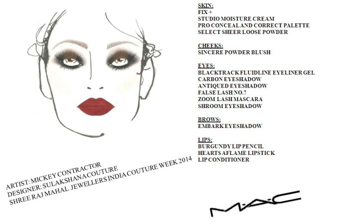 Face Chart - Day 6 - Sulakshana Couture (1)