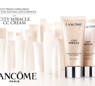 Lancome Launches City Miracle CC Cream!