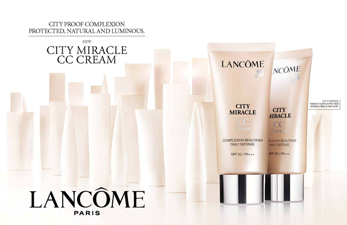 Thumbnail image for Lancome Launches City Miracle CC Cream!