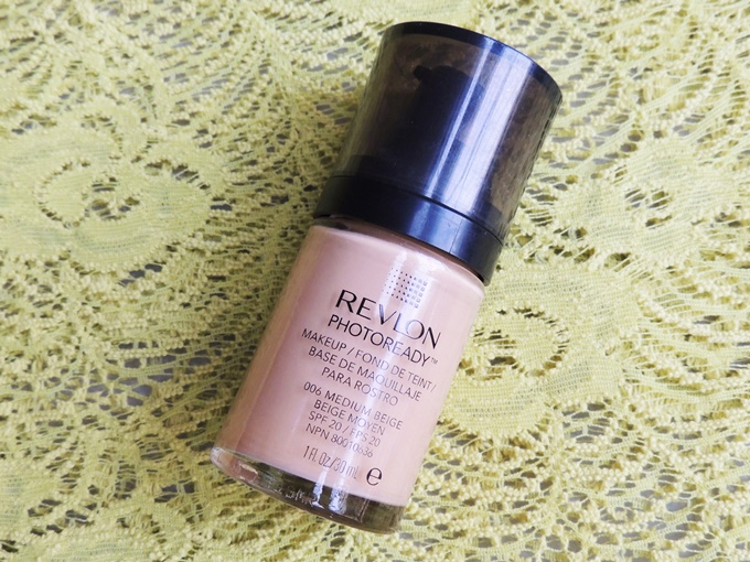 Thumbnail image for Revlon Photoready Foundation in 006 Medium Beige: Swatches & Review