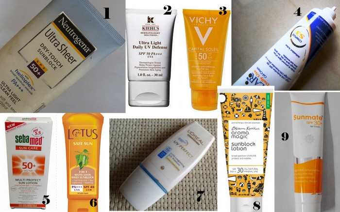 10 Best Sunscreens in India for Summer :For Oily Skin & Dry Skin! - Peachesandblush