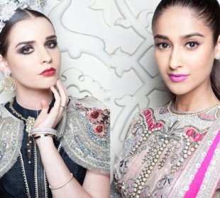 Makeup Breakdown: Mac for Rimple Harpreet, Rohit Bal & More