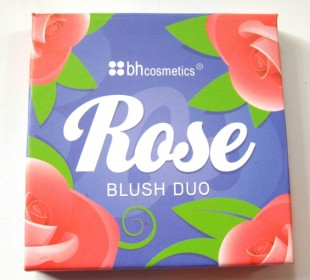 BH Cosmetics Floral Blush Duo in Rose: Swatches & Review