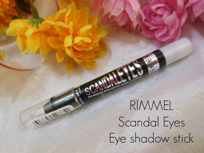 cfbdc1eb8d1 Rimmel Scandaleyes Eye Shadow Crayon in 001 Witness White: Swatches & Review