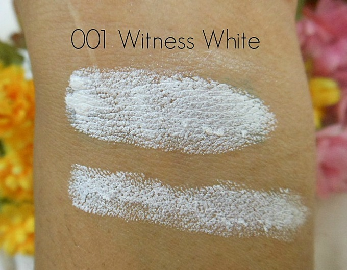 bd3d0a86fba Rimmel Scandaleyes Eye Shadow Crayon in 001 Witness White: Swatches ...