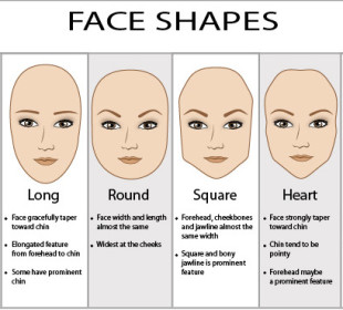 Eye brow styles suited for your face shape !!