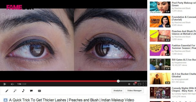 Post image for A  Quick & Easy Trick to Get (MUCH) Thicker Lashes : VIDEO