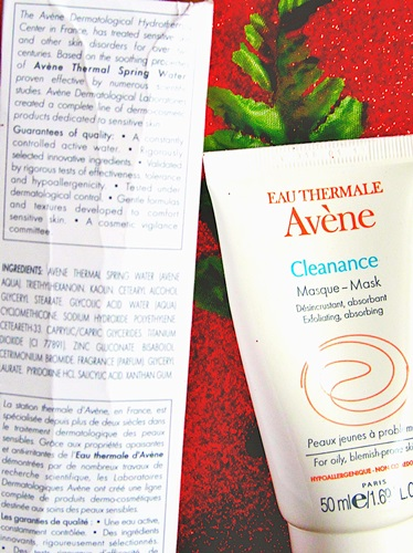Avène Clearance Mask Review (2)