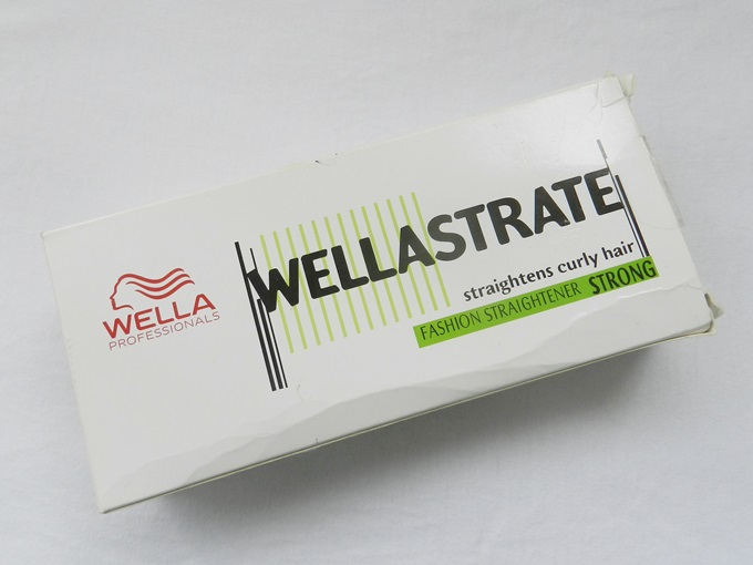 Wella Professional Wellastrate Hair Straightening Cream Strong