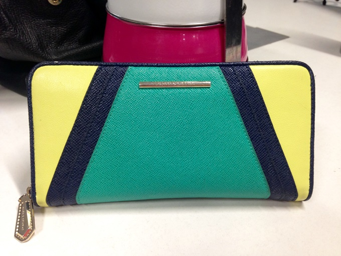 "e688539a257 Ashima says, ""Sending you a picture of my current wallet from Charles and  Keith! I love it because of the vibrant colors! I am a big fan of C&K  wallets ..."
