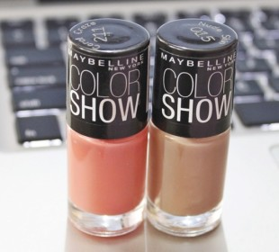 Maybelline Color Show Nail Polish: Nude Skin & Coral Craze