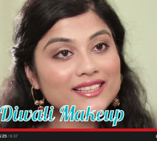 A festive, glowing Diwali Makeup Tutorial