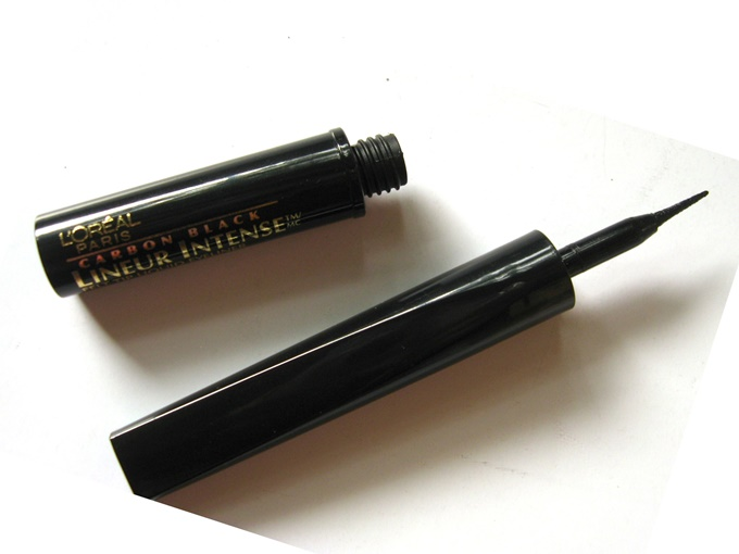 L'oreal Paris Carbon Black Intense Felt Tip Liquid Eyeliner Review