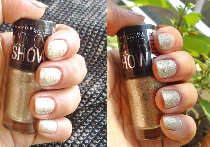 Maybelline Color Show Glitter Mania in All That Glitters Review (2)