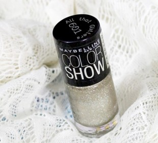 Maybelline Color Show Glitter Mania in All That Glitters Review