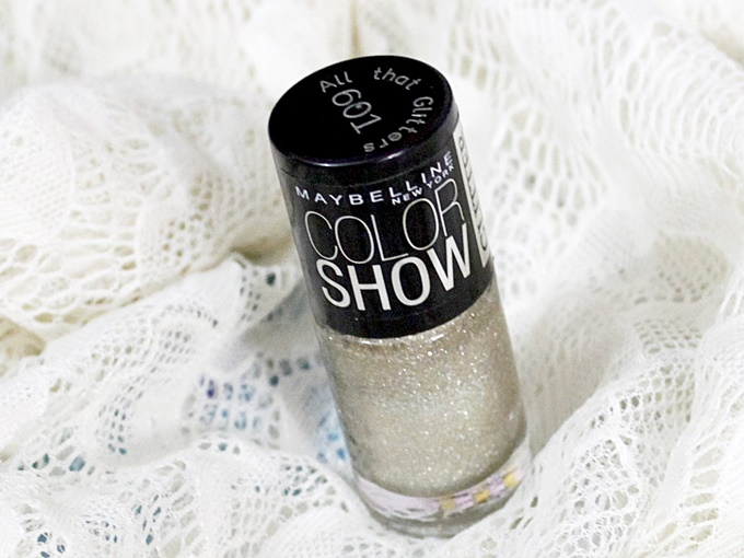 Maybelline Color Show Glitter Mania in All That Glitters Review (3)