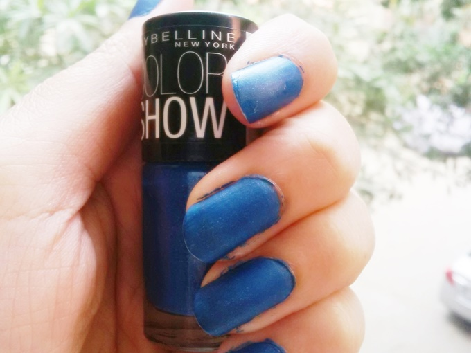 Thumbnail image for Maybelline Colorshow Nail Polish in Denim Dash: Swatches & Review