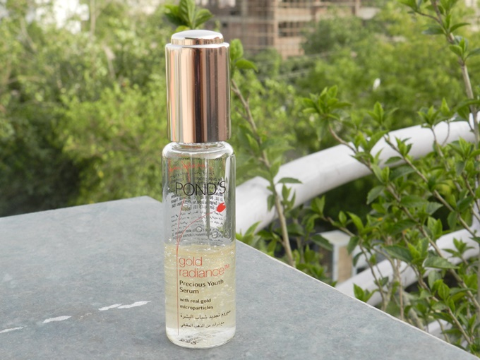 Ponds Gold Radiance Precious  Youth Serum Review (6)