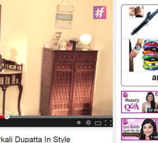 6 Different ways to drape your anarkali dupatta (VIDEO)