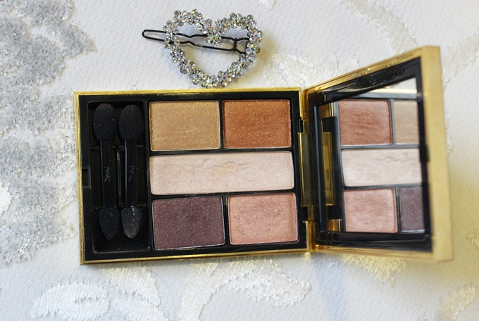 Thumbnail image for YSL Ombres 5 Lumieres Eyeshadow Palette in #3 Tawny: Swatches & Review