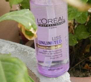 L'Oreal Professionnel Liss Unlimited Evening Primrose Oil Review