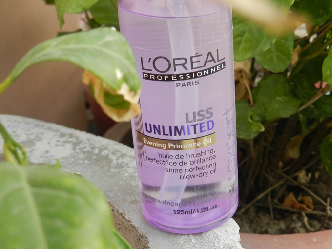 Thumbnail image for L'Oreal Professionnel Liss Unlimited Evening Primrose Oil Review