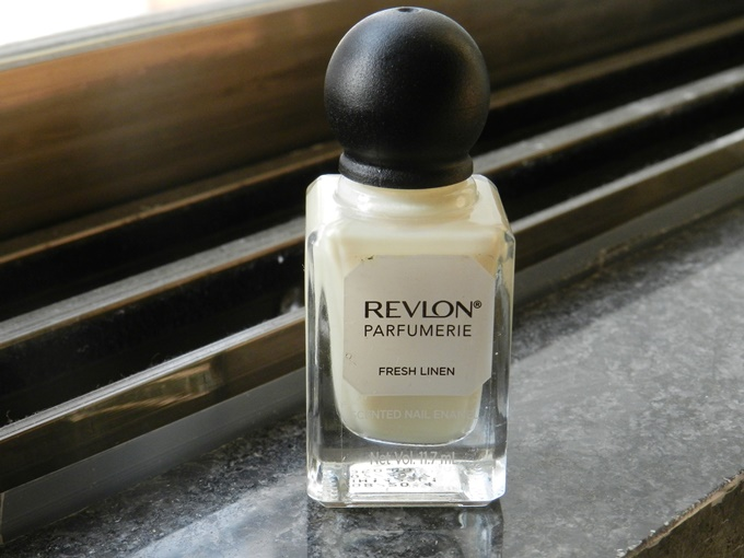 Thumbnail image for Revlon Parfumerie Scented Nail Enamel in Fresh Linen: Swatches & Review