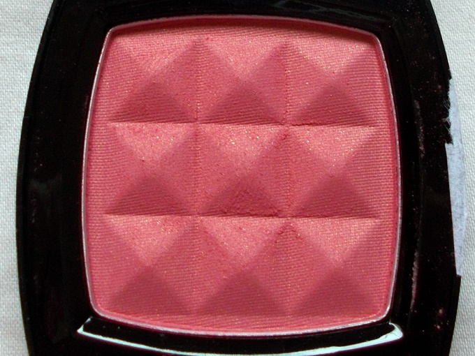 NYX Powder Blush in Pinched Review (1)