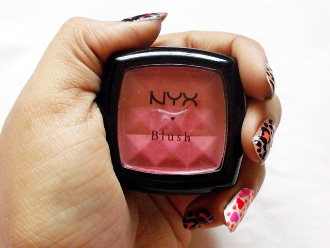 NYX Powder Blush in Pinched Review (4)