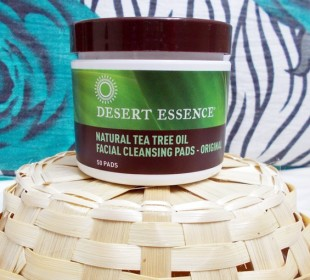 Desert Essence Tea Tree Oil Facial Cleansing Pads Review