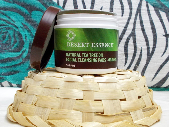 Desert Essence Tea Tree Oil Facial Cleansing Pads Review (5)