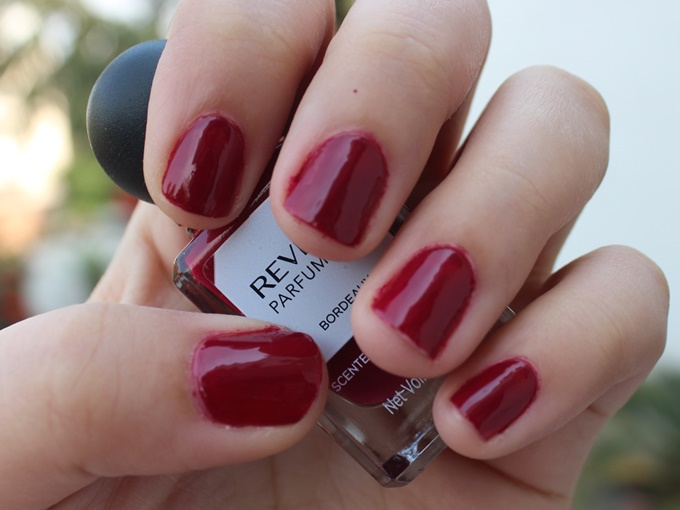 Thumbnail image for Revlon Parfumerie Scented Nail Enamel in Bordeaux: Swatches & Review