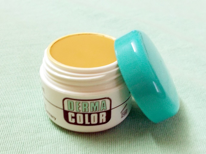 Kryolan Derma Color Camouflage Creme In D64 Review (3)