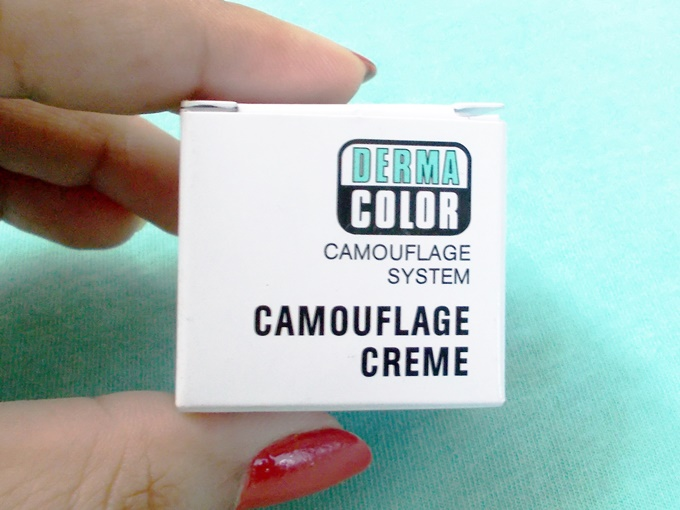 Kryolan Derma Color Camouflage Creme In D64 Review (4)