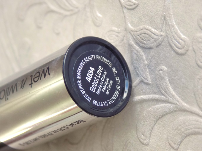 Wet N Wild Fergie Centerstage Perfect Pout Lip Color in Bebot Love (8)