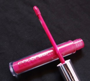 Colorbar True Lip Gloss in Vintage Rose: Swatches & Review