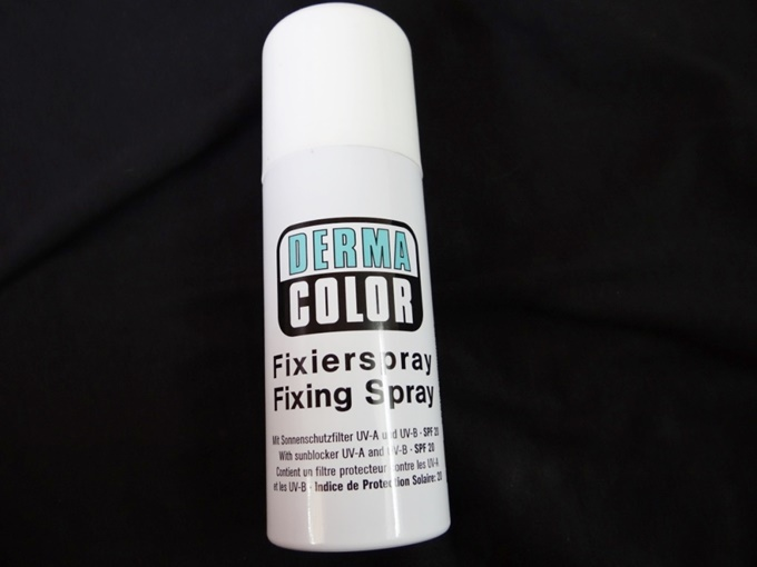 Thumbnail image for Kryolan Dermacolor Fixing Spray Review