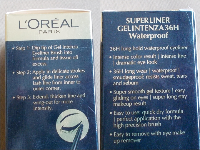 Loreal Paris Super Liner Gel Intenza in Sapphire Blue Review (1)